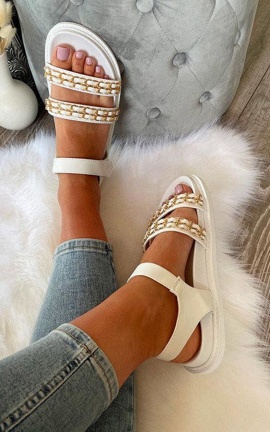 Dakota Chain Strappy Sandals