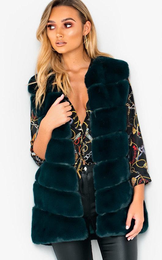 Dalliah Faux Fur Waistcoat