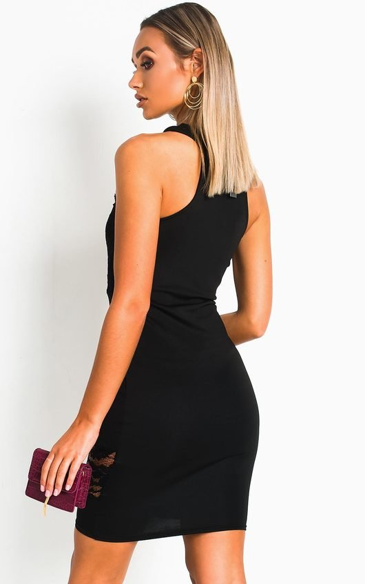 Danielle Bodycon Lace Mini Dress