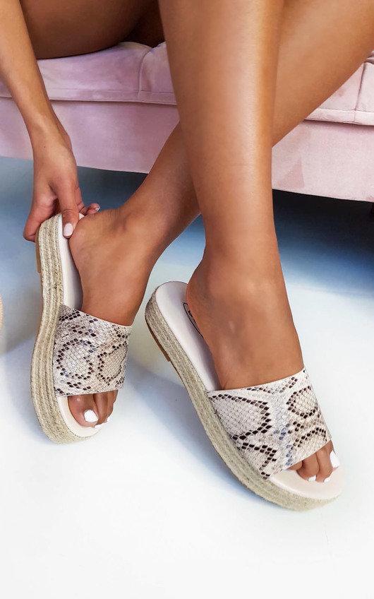 Darcey Woven Flatform Sandals