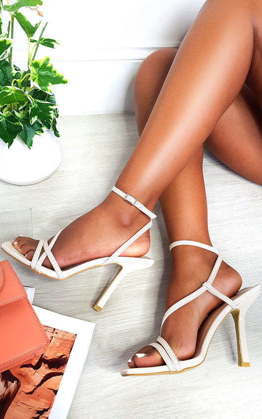 Delilah Strappy High Heels