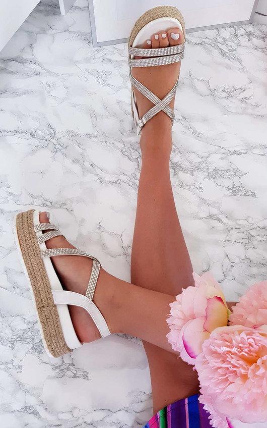 Delilah Strappy Flatform Sandals
