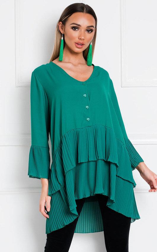 Diana Pleated Shirt Dress
