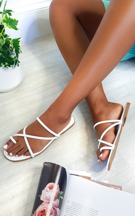 Dillon Strappy Flat Sandals