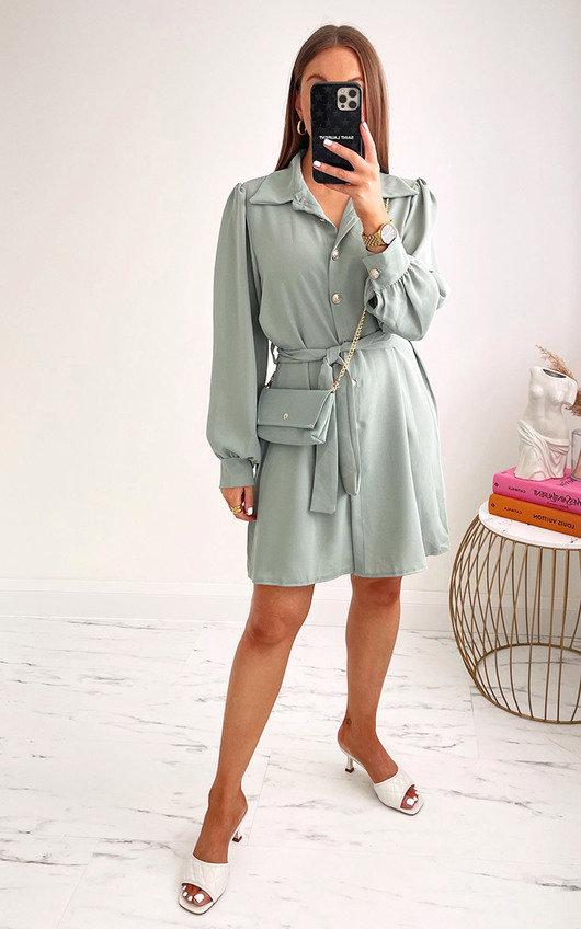 Dina Shirt Dress