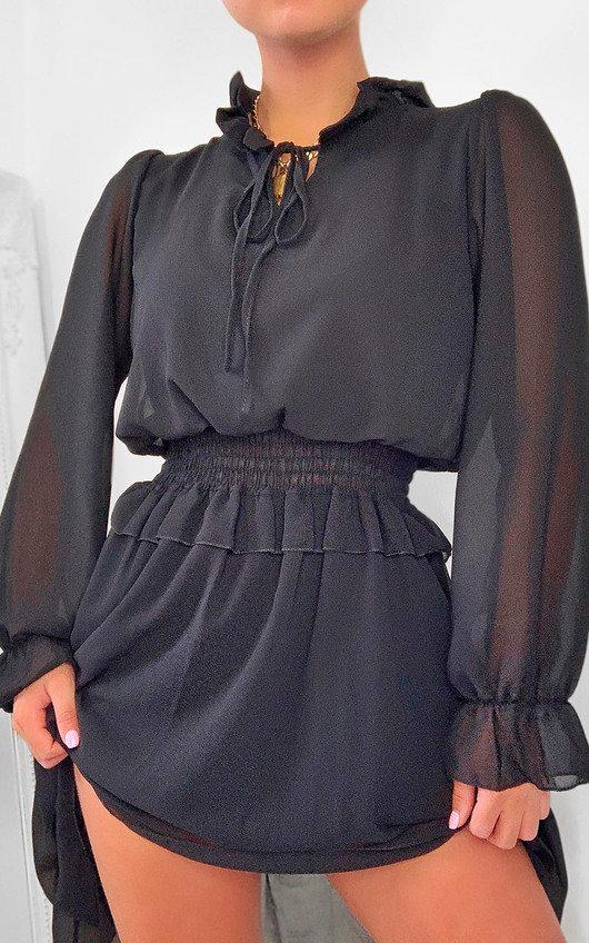 Dionne Frill Mini Dress