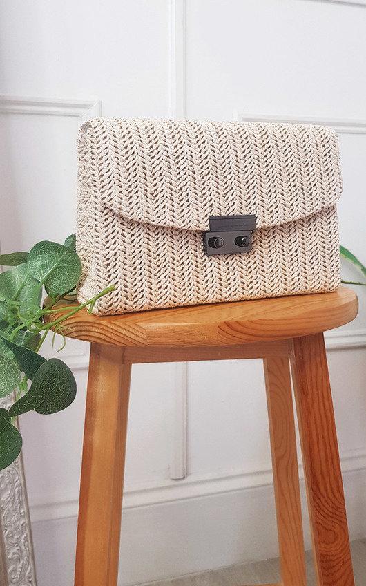 Dixie Woven Handbag