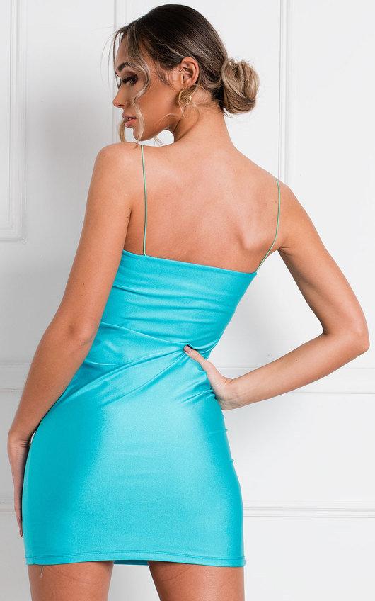 Dolly Strappy Slinky Mini Dress