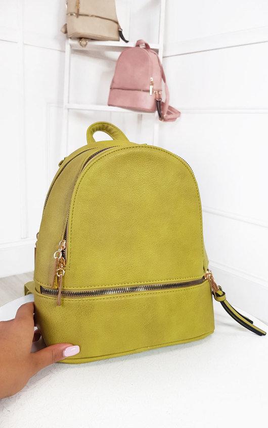 Dora Faux Leather Backpack Bag