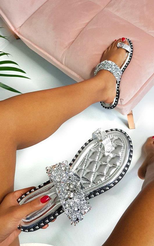 Dorothy Embellished Open Toe Sandals