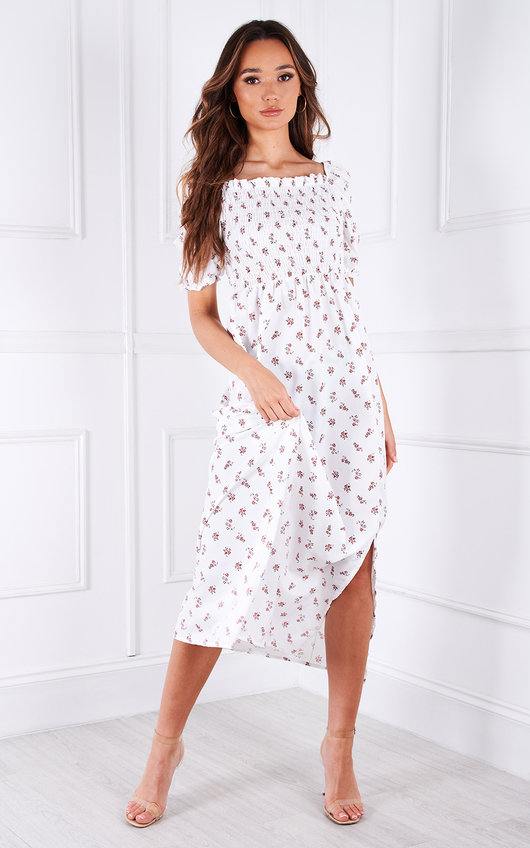 Kylie Floral Midi Dress
