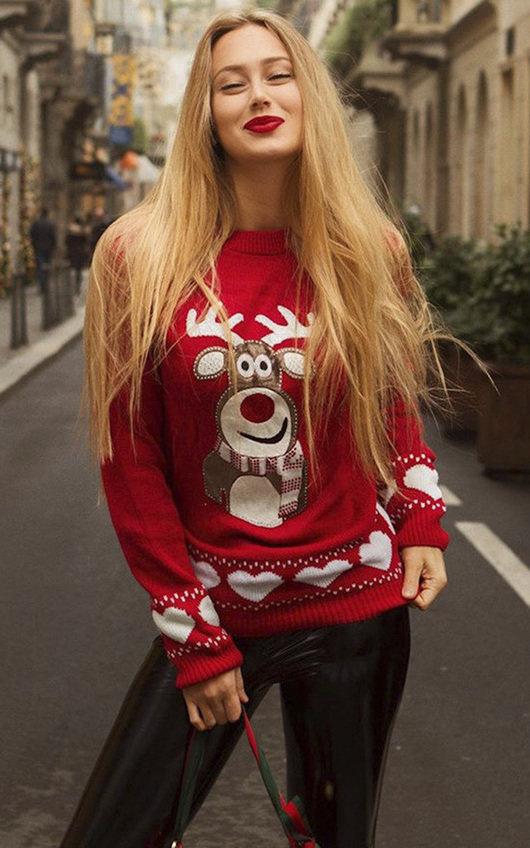 Dunder Reindeer Christmas Jumper