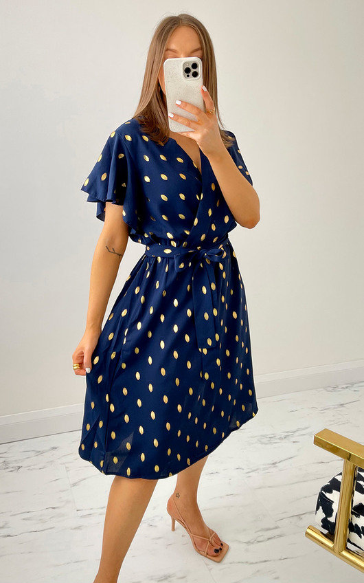 Edith Wrap Dress