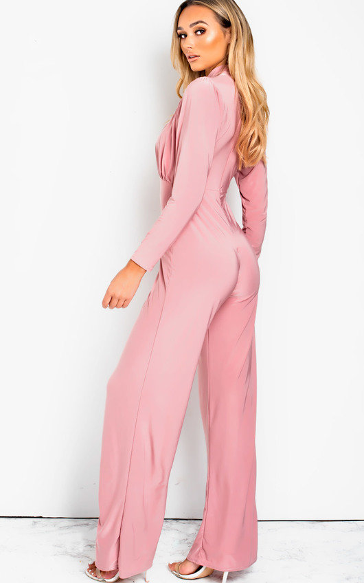 Effie Cut Out Wide Leg Jumpsuit
