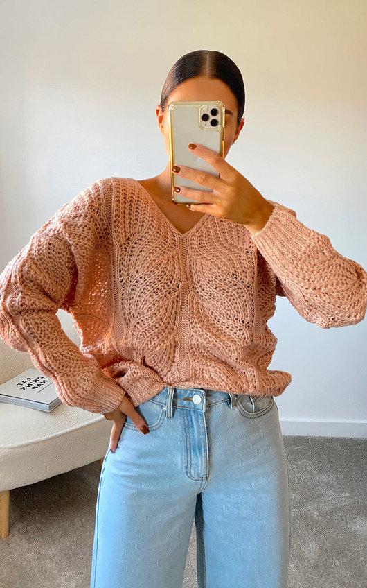Effie Oversized Knitted Jumper