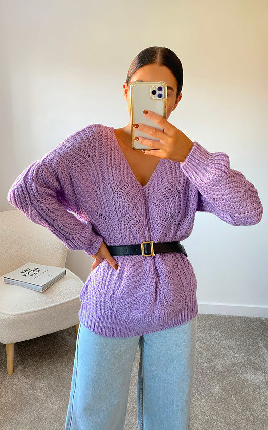 Effie Oversized Knitted Jumper