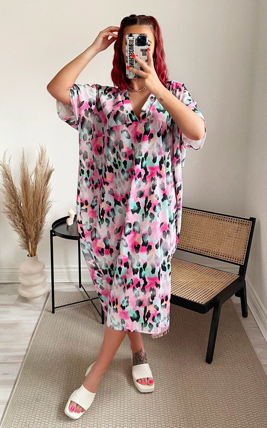 Effie Oversized Maxi Dress