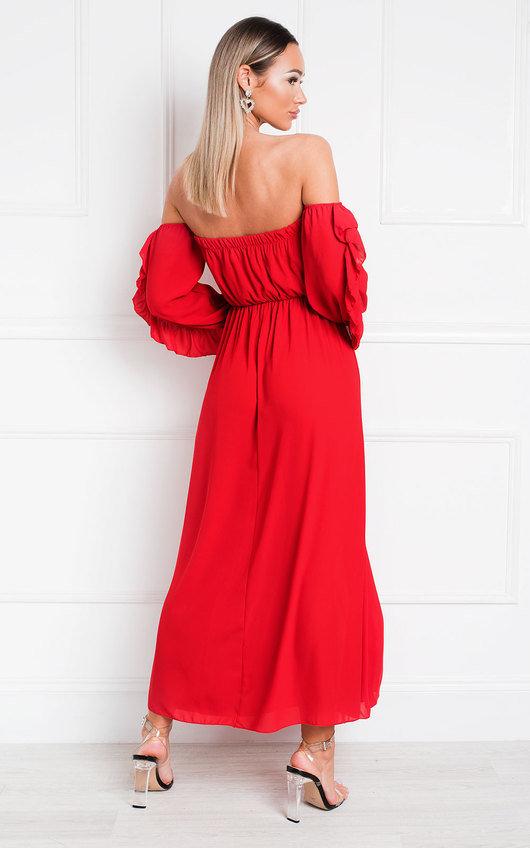 Effy Off Shoulder Dress