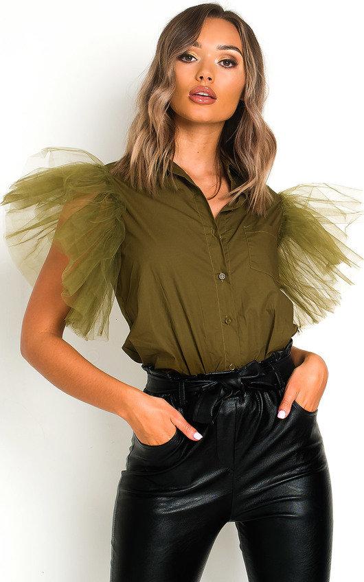Eilish Tulle Over Shirt