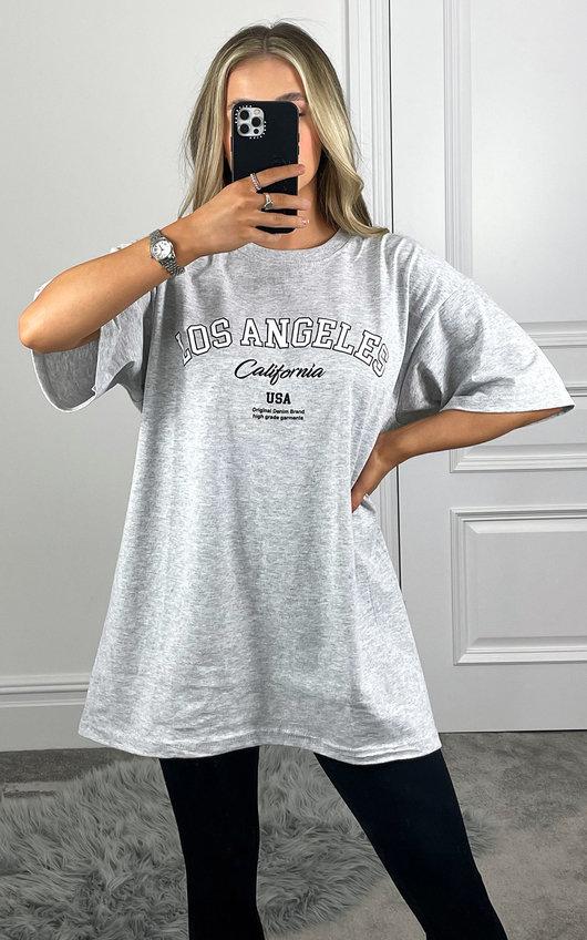 Ela Slogan Basic T-shirt