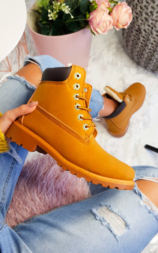 Electra Faux Suede Desert Boots