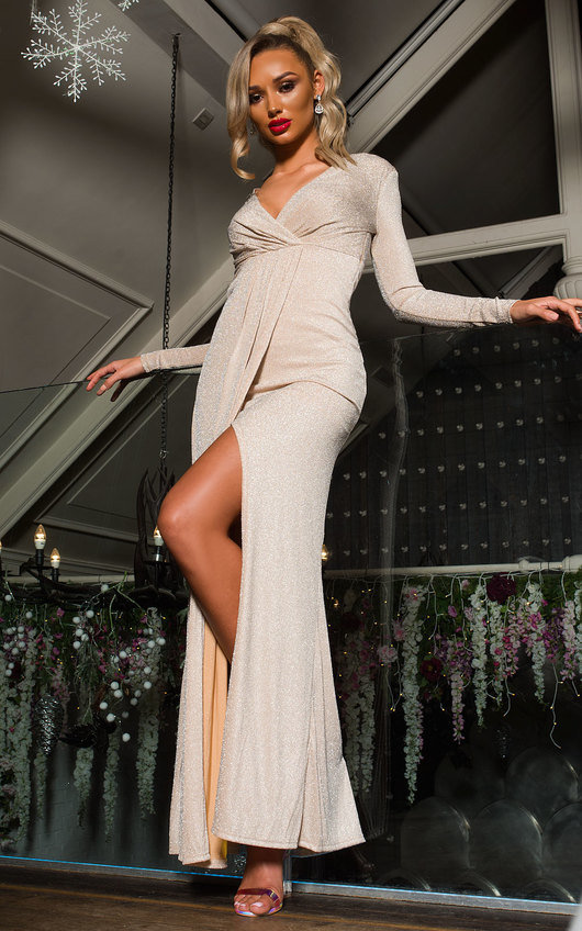 Elegance Evening Maxi Dress
