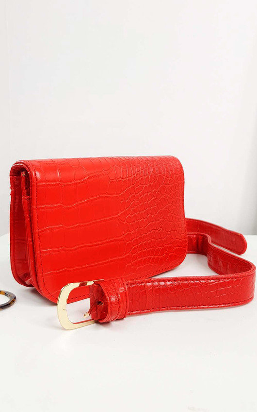 Ella Faux Leather Belt Bag