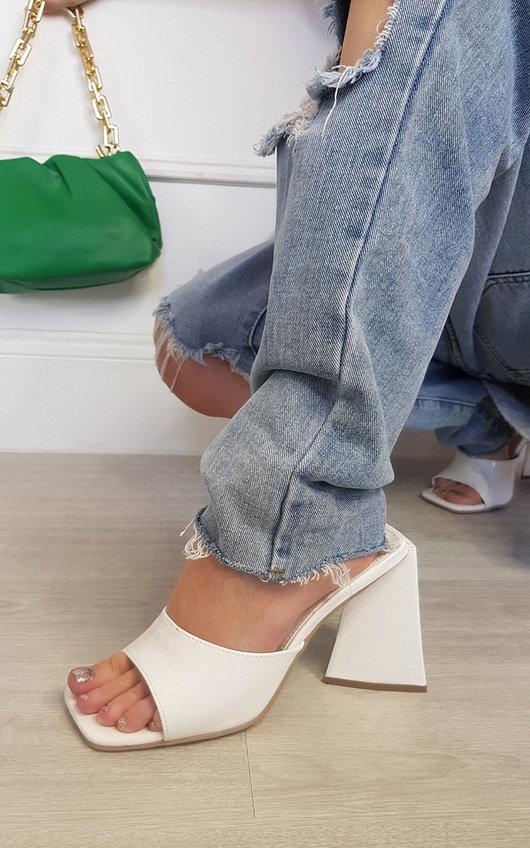 Ellen Slip On Block Heels