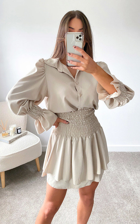 Eloise Shirt and Skirt Co Ord