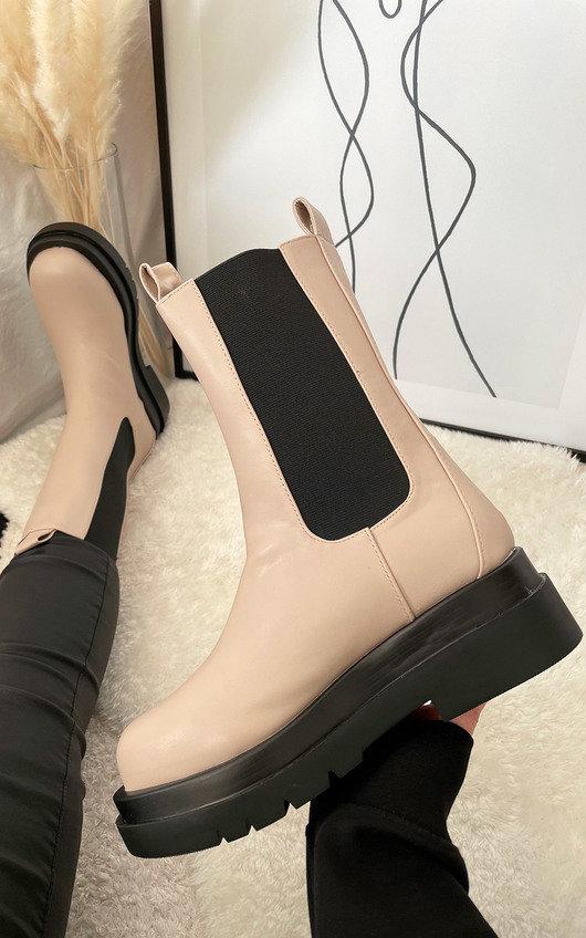 Elsa Biker Boots
