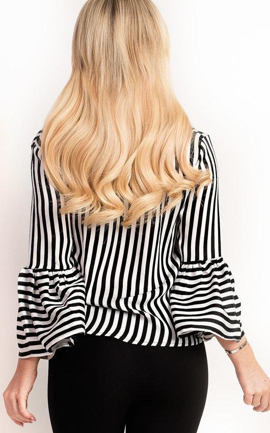 Elsie Stripe Collared Shirt