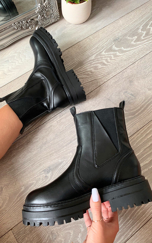 Emma Chunky Ankle Boots