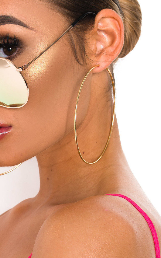 Emma Statement Hoop Earrings