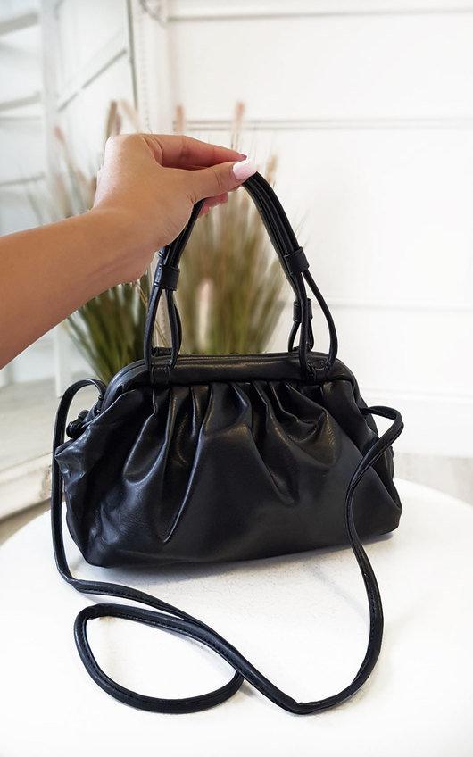Emrata Faux Leather Pouch Bag