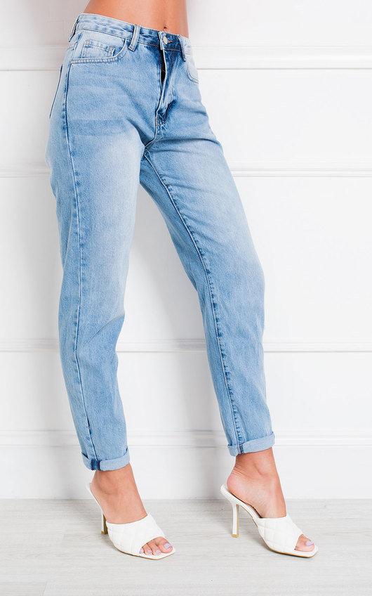 Enzo High Waist Mom Jeans