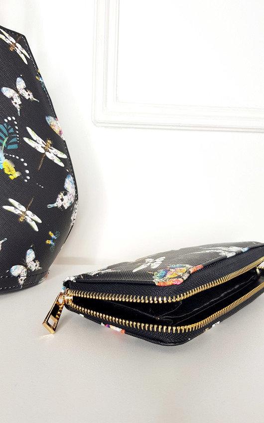 Erin Floral Print Handbag