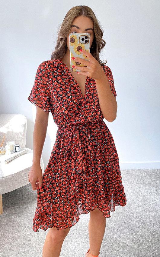 Erin Wrap Dress