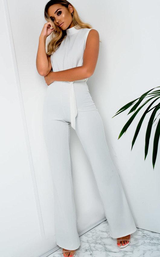 bdabfa0725c6 Erinna High Neck Jumpsuit in White