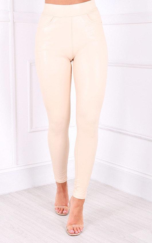 Etta PU High Waisted Leggings
