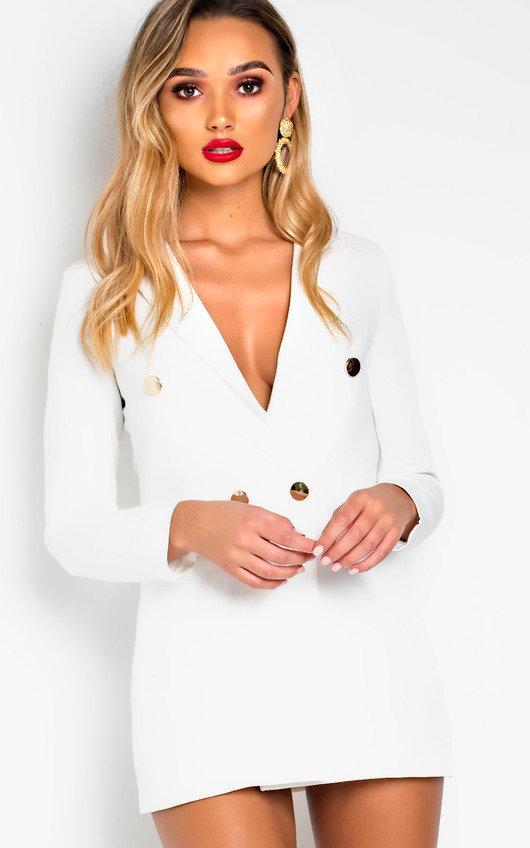Evie Long-Lined Blazer