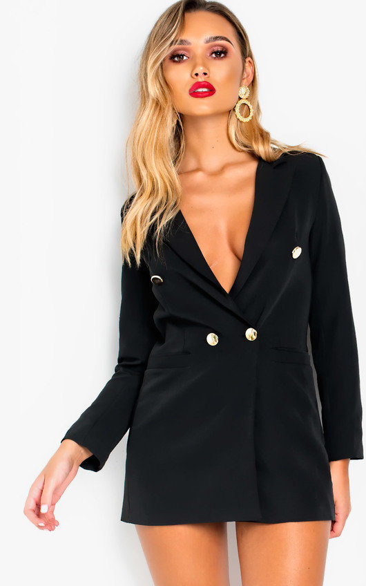 Evie Long-Lined Blazer