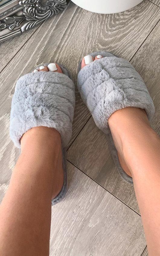 Faith Faux Fur Slippers