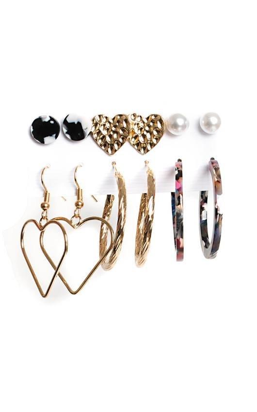 Faith Set of 6 Earrings