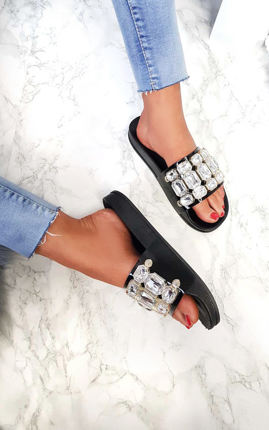 Farah Embellished Sliders
