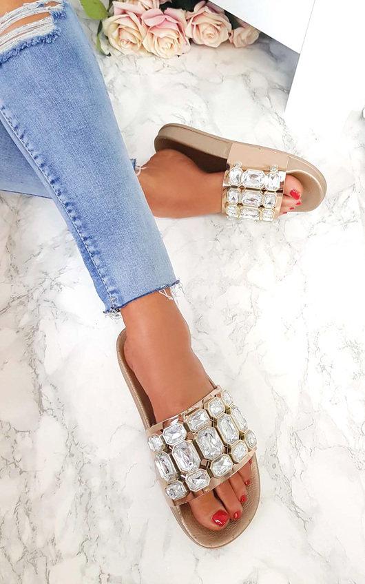 Farah Embellished Sliders