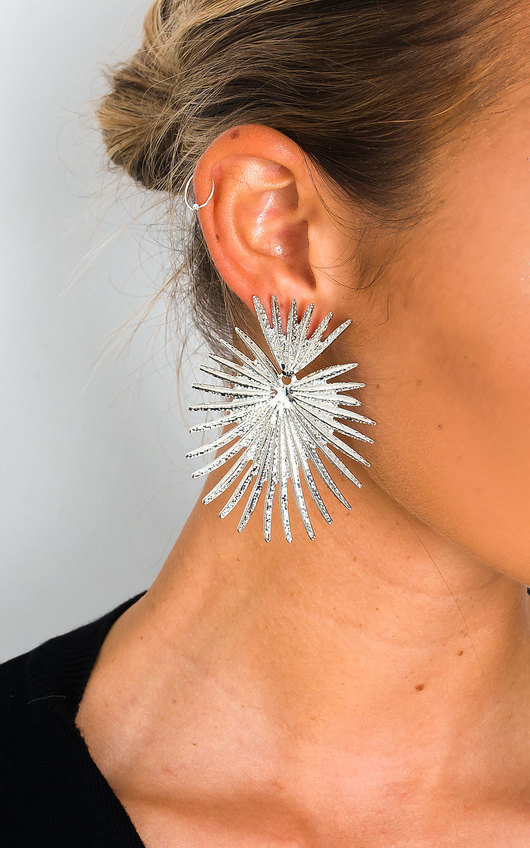 Farah Spike Statement Earrings