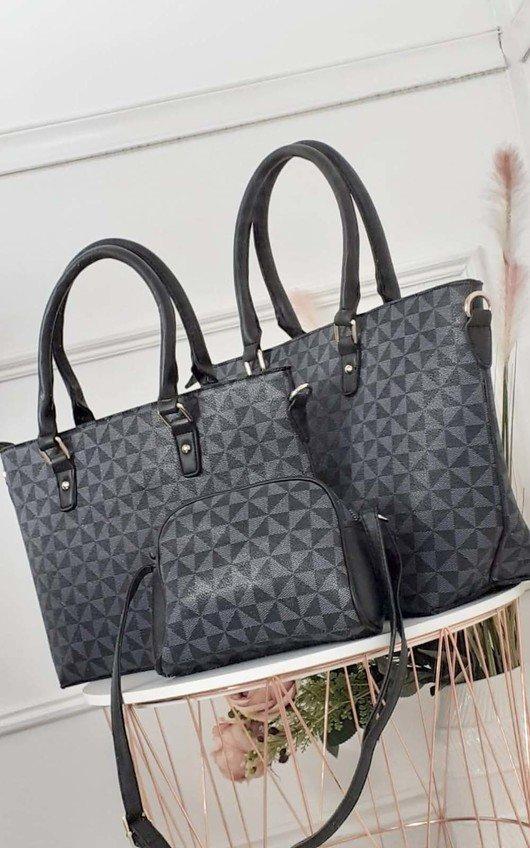 Farrah 3 in 1 Printed Handbag