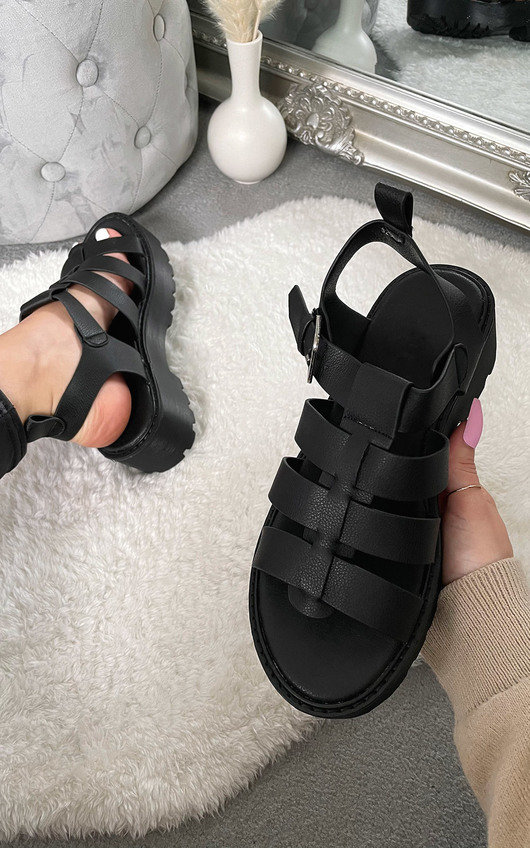 Felicity Chunky Gladiator Sandals