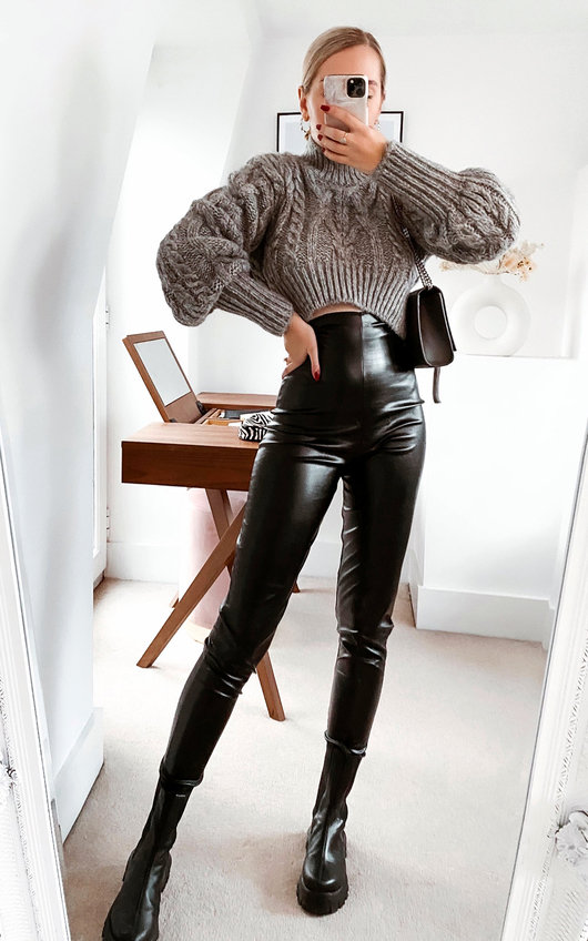 Felicity Faux Leather Leggings