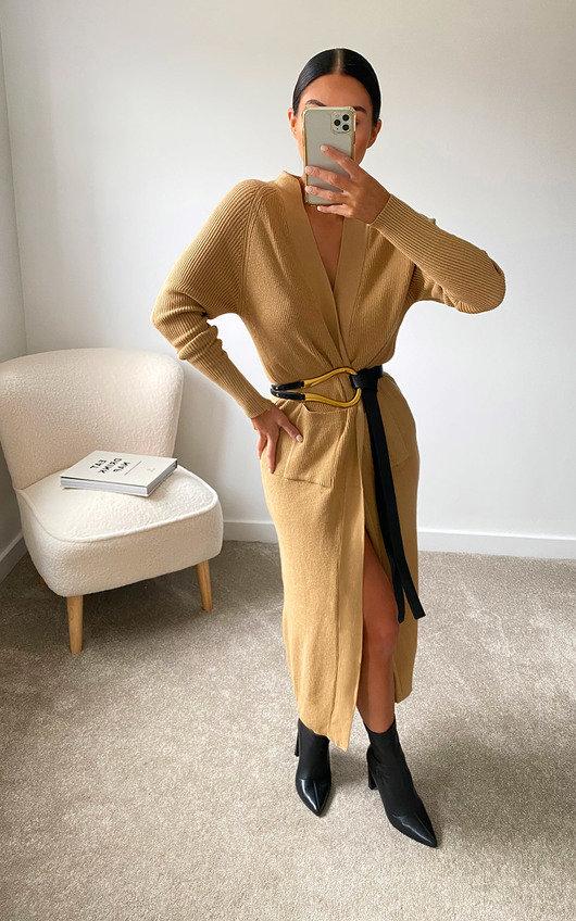 Felicity Longline Knitted Cardigan